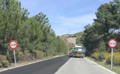 Fomento acomete mejoras en la carretera entre Ronda y San Pedro