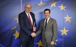 Moreno encuentra en Bruselas «sensibilidad» con Andalucía sobre los efectos del 'Brexit'