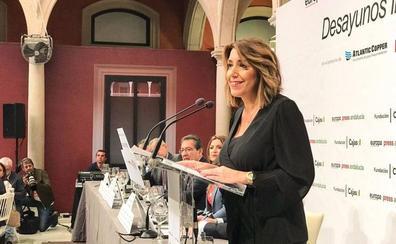 Susana Díaz quiere volver a ser presidenta de la Junta y confirma que se presentará a las primarias