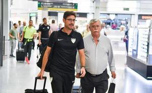 El Málaga ya está en casa después del periplo en Aragón