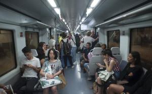 La Junta ya advirtió de «problemas de capacidad» en el Cercanías de la Costa