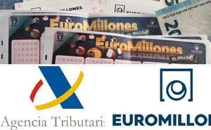 ¿Cuánto ha recaudado ya Hacienda con el bote de 190 millones de Euromillones?