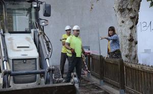 Renfe inicia las obras de la estación de La Nogalera, donde se construirán ascensores