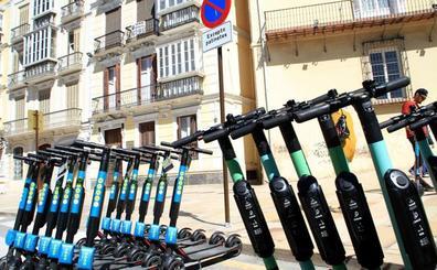 La nueva ordenanza prohibirá a los patinetes circular por la vías con más tráfico de Málaga