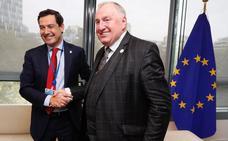 Moreno reclama más dinero para la convergencia de Andalucía en Europa