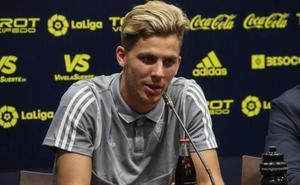 Iván Alejo: «Casi todos los futbolistas del Málaga han jugado en Primera»