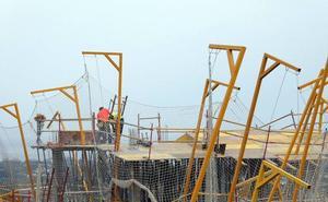 La construcción mantiene su crecimiento en Andalucía pero muestra ya síntomas de desaceleración