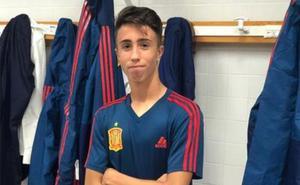 El malagueño David Larrubia jugará el mundial sub-17