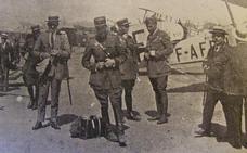 Aviones, toros y Guerra de Marruecos, la primera película que llegó volando al Aeropuerto de Málaga