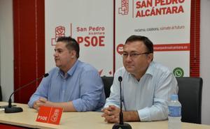 Miguel Ángel Heredia pide en San Pedro el «voto útil» al PSOE para frenar a la derecha