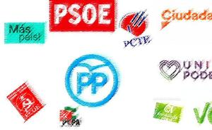 Conoce las listas completas de los partidos que se presentan a las elecciones generales por Málaga