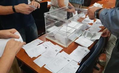 Trece partidos, dos más que en abril, se presentan en Málaga a las elecciones del 10 de noviembre