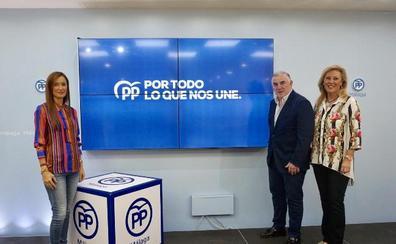 El PP de Málaga aspira a lograr cuatro diputados y pide el voto útil del centro-derecha