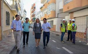 Arranca la obra que transformará la céntrica calle Málaga con un presupuesto de casi un millón de euros