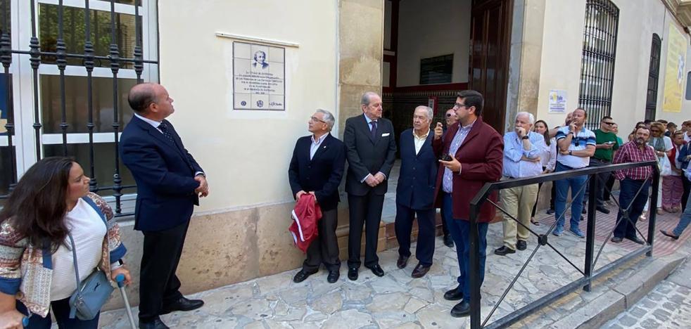 La Salle celebra su 75 aniversario en Antequera con una placa conmemorativa