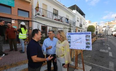 El plan de barrios avanza por el centro de San Pedro con la mejora de la calle Álamos