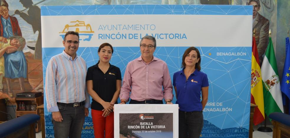 Rincon de la Victoria celebrates the first Warrior Challenge with the participation of up to 1,500 people
