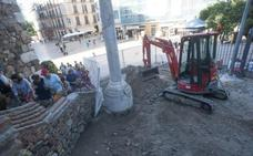 Obras en la Alcazaba