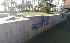 Paseo Marítimo Antonio Banderas: Parque Infantil abandonado