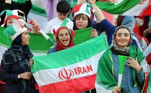 Las mujeres iraníes rompen un veto
