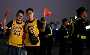 Lakers y Nets juegan en China pese a la polémica entre el país y la NBA