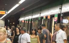 El metro de Málaga supera los 4,8 millones de viajeros hasta septiembre