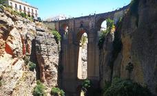 Los ocho cañones más espectaculares de Málaga