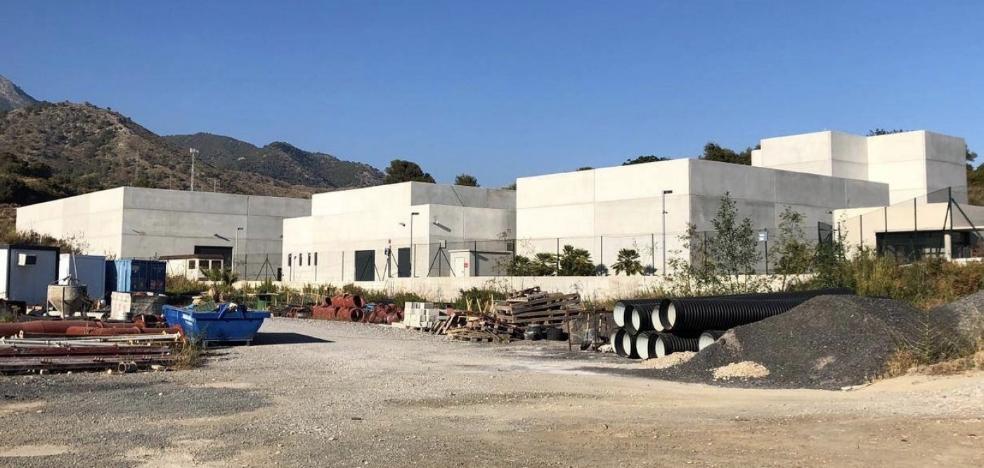 Las obras de la depuradora de Nerja se reanudarán la próxima semana con un plazo de ocho meses
