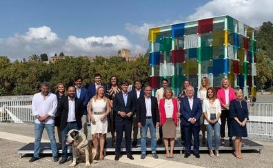 Los candidatos malagueños del PP salen «a ganar» para «darle la vuelta al bloqueo de Sánchez»