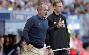 Cervera, técnico del Cádiz: «Creo que el cambio del Málaga llegará con un resultado»
