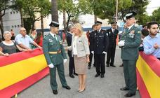 Festividad de la Santísima Virgen del Pilar, Patrona de la Guardia Civil, en Marbella