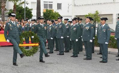 La Guardia Civil celebra en Marbella el día de su patrona con la presencia del nuevo capitán