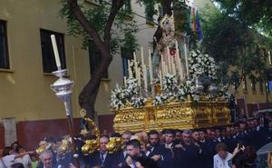 Jornada procesional de rosarios y cincuentenario cofrade