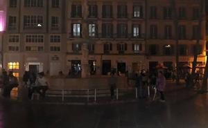 Un segundo apagón en menos de 24 horas deja sin luz a varias calles del Centro de Málaga
