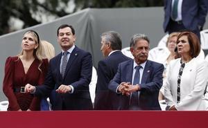 Moreno destaca la importancia del Día de la Hispanidad para Andalucía