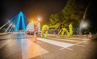 Marbella pone a punto más de un centenar de pasos de peatones