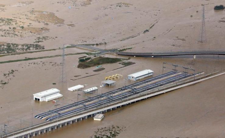 El tifón Hagibis deja a su paso muerte y destrucción