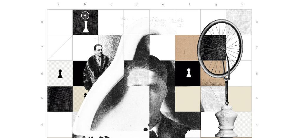 Duchamp, una vida entregada al arte%u2026 y al ajedrez