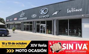 Días Sin IVA 'El Motorista Málaga'. ¡Estrena Moto!