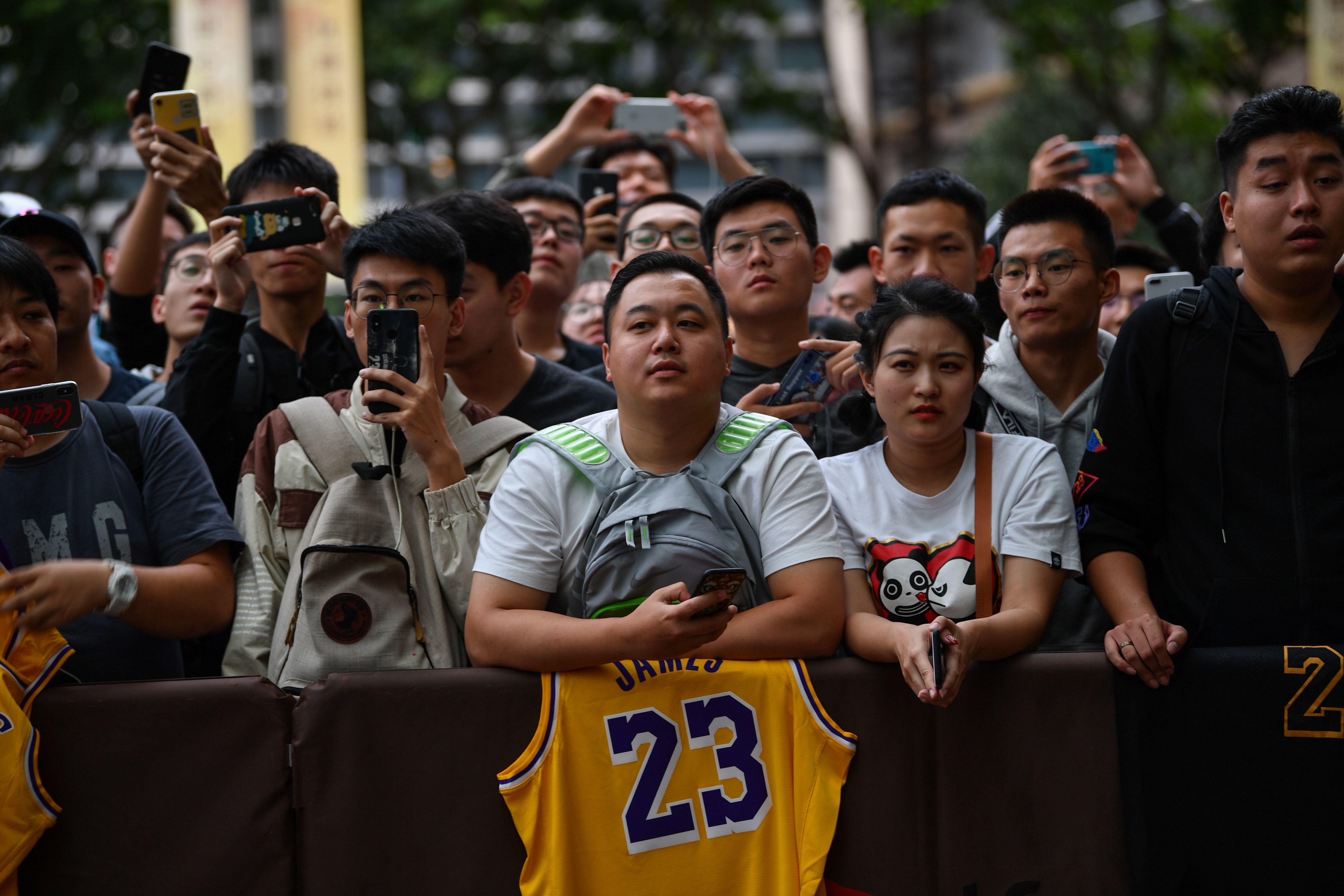 La NBA vuelve a la televisión china sin los Rockets