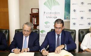 La Fundación Unicaja y la UMA impulsan la investigación, la ayuda al estudio y la cultura