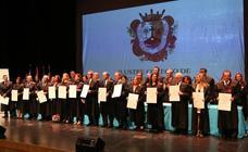 Homenaje a los abogados de Málaga que cumplen 25 y 50 años de ejercicio