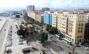 El Ayuntamiento de Málaga encarga un estudio de tráfico para el soterramiento entre el muelle de Heredia y La Malagueta