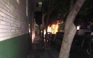 Carencias en el alumbrado en calle Antonio Soler