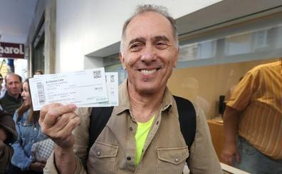 «Estoy aquí para darle las gracias a Antonio Banderas»