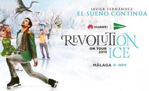 Consigue 2 entradas para para ir a 'Revolution on Ice' en Málaga, el espectáculo de Javier Fernández