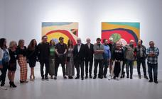 Así fue la reapertura del CAC Málaga con la exposición de Sean Scully