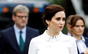 Ayuso se queja al director de Telemadrid por los «lamentables» comentarios sobre la Infanta Elena