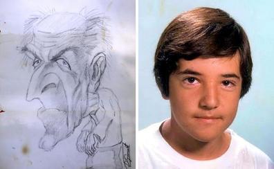 La policía investiga cómo llegó el dibujo del 'niño pintor' al buzón de una antigua compañera de clase
