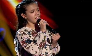 Vanesa Martin gana la batalla en 'La Voz Kids' y se queda con «la esencia, el alma y el corazón» de la malagueña Patricia García